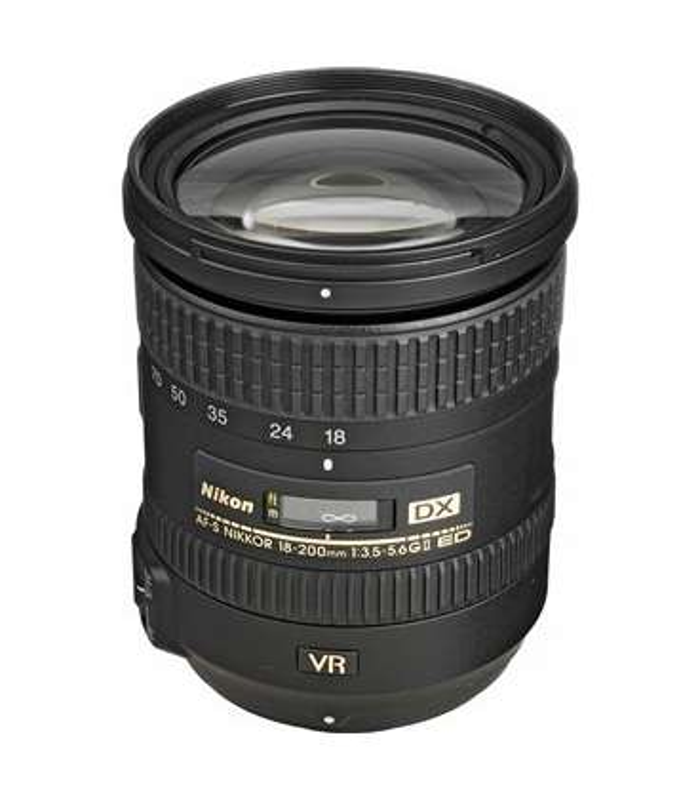 لنز نيکون 18-200mm f/3.5-5.6G IF-ED VR II DX AF-S | Nikon 18-200mm f/3.5-5.6G IF-ED VR II DX AF-S