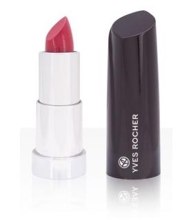 رژ لب جامد مرطوب کننده ایوروشه مدل Yves Rocher Moisturising Cream Rose Fuschia 13