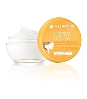 کرم روز تغذیه کننده نوتریتیو وژتال ایوروشه Yves Rocher Nutritive Vegetal Nourishing Cream Day