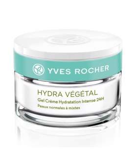 ژل کرم مرطوب کننده 24 ساعته هیدرا وژتال ایوروشه Yves Rocher Hydra Vegetal Intense Hydrating Gel Cream