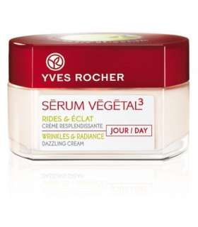 کرم روز سرم وژتال 3 ایوروشه Yves Rocher Serum Vegetal 3 Day Cream