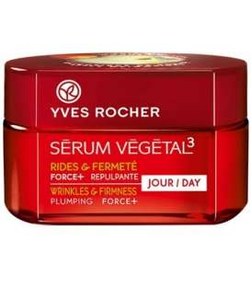 کرم روز فورس پلاس سرم وژتال 3 ایوروشه Yves Rocher Serum Vegetal 3 Force + Day Cream