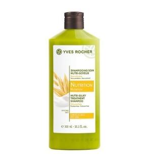 شامپو تغذیه کننده مو نوتریشن ایوروشه Yves Rocher Nutrition Nutri Silky Treatment Shampoo