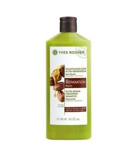 شامپو ترمیم کننده موهای آسیب دیده ایوروشه Yves Rocher Treatment Shampoo