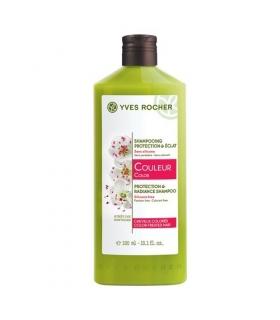 شامپو محافظت کننده مخصوص موهای رنگ شده کالر پروتکشن ایوروشه Yves Rocher Color Protection Shampoo