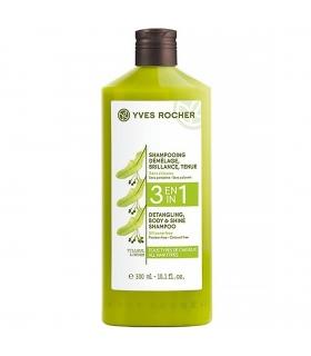 شامپو باز کننده گره 3 در 1 ایوروشه Yves Rocher Demelage 3 in 1 Shampoo