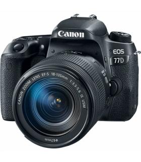 دوربین عکاسی دیجیتال کانن Canon EOS 77D Kit 18-135mm f/3.5-5.6 IS USM