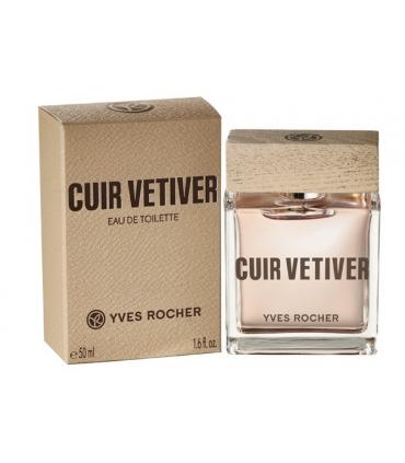 عطر مردانه کویر وتیور ایوروشه Cuir Vetiver Yves Rocher for Men