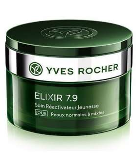 کرم روز اکسیر 7.9 ایوروشه Yves Rocher Elixir 7.9 Youth Energy Day Care Cream