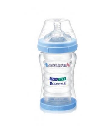 شیشه شیر بیبی سیل 220 میلی لیتر آبی رنگ Babisil BS 4434 Bottle 220ml