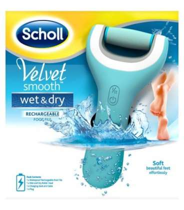 سنگ پای برقی شول ولوت اسموت Scholl Velvet Smooth Foot Rasp |