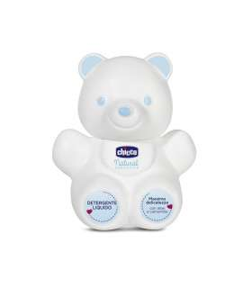 شامپو بدن کودک چیکو نچرال سنسیشن خرسی 300 میلی لیتر Chicco Natural Sensation Bear Baby Body Shampoo 300ml