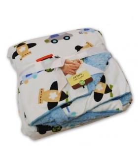 پتوی نوزادی کارترز طرح وسایل نقلیه Carters Vehicles Baby Blanket