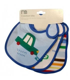 پیشبند مادرکر بسته 3 عددی طرح ماشین Mothercare 1412 Apron Pack Of 3