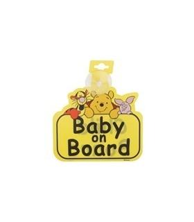 بیبی آن بورد مادرکر طرح پوو Mothercare Winnie the Pooh Baby On Board Sticker