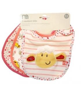 پیشبند مادرکر بسته 3 عددی طرح بره کوچولو Mothercare 1412 Apron Pack Of 3