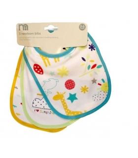 پیشبند مادرکر بسته 3 عددی طرح روز آفتابی Mothercare 1412 Apron Pack Of 3