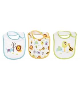 پیشبند مادرکر بسته 3 عددی طرح حیوانات Mothercare 1630.5 Apron Pack Of 3