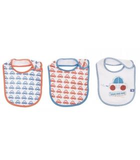 پیشبند مادرکر بسته 3 عددی طرح ماشین Mothercare 1630.6 Apron Pack Of 3