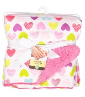 پتو نوزادی کارترز طرح قلب رنگارنگ Carters Colorful Baby Blanket