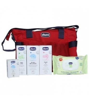 ست کیف و لوازم بهداشتی کودک چیکو Chicco Baby Bag and Health Care Accessories