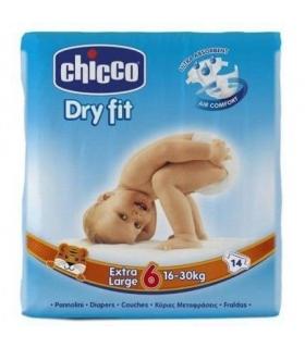 پوشک چیکو 14 عددی سایز 6 Chicco Diaper Size 6 Pack of 14