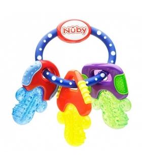 دندان گیر نابی خنک کننده دسته کلید Nuby Icybite Keys Teether id455