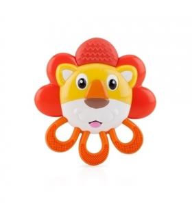 دندان گیر ویبره دار نابی طرح شیر Nuby Vibe-eez Lion Teether id546
