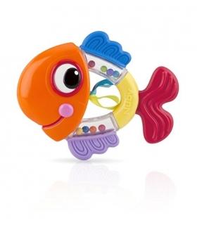 دندان گیر جغجغه ای کودک نابی طرح ماهی Nuby Fish Rattle Pals Teether id686