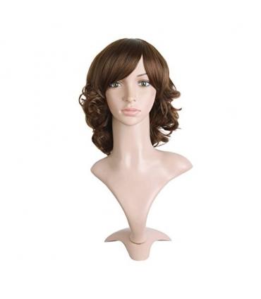 کلاه گیس مپ آف بیوتی زنانه متوسط مدل فر MapofBeauty Curly Hair Wig