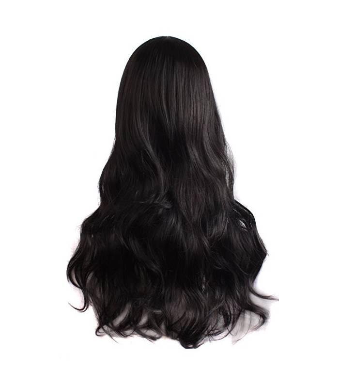کلاه گیس مپ آف بیوتی زنانه بلند مدل فر و حالت دار MapofBeauty Women's Long Curly Wig