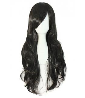 کلاه گیس مپ آف بیوتی زنانه بلند مدل چتری و حالت دار MapofBeauty Women Side Bangs Long Curly Wig