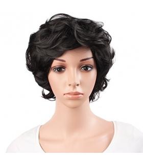 کلاه گیس مپ آف بیوتی زنانه کوتاه مدل فشن فر و حالت دار MapofBeauty Curly Short Fashion Wig