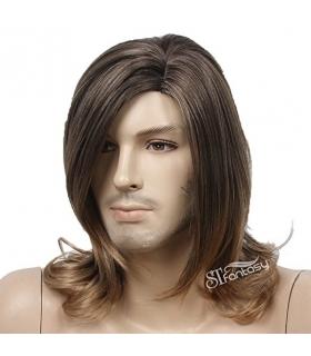 کلاه گیس اس تی فنتسی مدل متوسط حالت دار STfantasy Wig for Men Medium length Curly Wavy