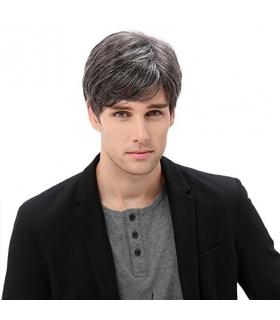 کلاه گیس اس تی فنتسی مردانه مدل کوتاه حالت دار STfantasy Mens Wig Short Wavy Hair