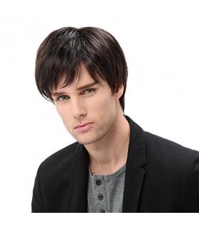 کلاه گیس اس تی فنتسی مردانه مدل کوتاه و لخت STfantasy Mens Wig Short Straight Synthetic Hair