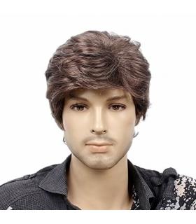 کلاه گیس اس تی فنتسی مردانه مدل کوتاه و مجعد STfantasy Mens Wig Short Wavy Synthetic Hair