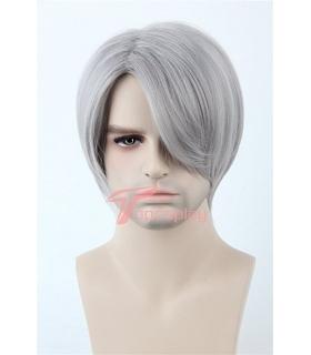 کلاه گیس تاپ کاسپلی مردانه مدل لخت و کوتاه Topcosplay Men Wig Hair Straight Short