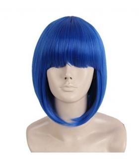 کلاه گیس تاپ کاسپلی زنانه مدل کوتاه و لخت چتری دار Topcosplay Short Straight Wigs Flat Bangs