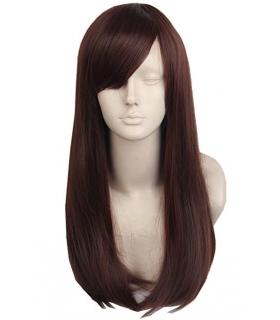 کلاه گیس تاپ کاسپلی زنانه مدل بلند و صاف چتری دار Topcosplay Long Women Wig