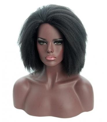 کلاه گیس تاپ کاسپلی زنانه مدل حالت دار فرفری Topcosplay Afro Curly Short Hair Wig