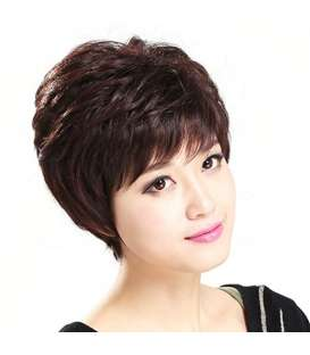کلاه گیس گو اکشن زنانه مدل کوتاه و حالت دار فر Gooaction Fluffy Short Curly Wig
