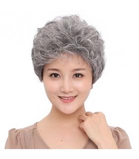 کلاه گیس گو اکشن زنانه مدل کوتاه و فر GOOACTION Short Wavy Synthetic Hair Women Wig