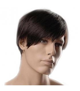 کلاه گیس گو اکشن مردانه کوتاه و صاف GOOACTION Short Hair Men's Wig