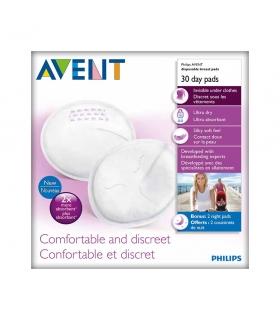 پد سینه فیلیپس اونت روزانه بسته 30 عددی Philips Avent A254/30 Day Breast Pad