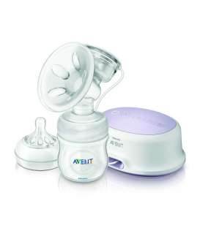 شیردوش برقی فیلیپس اونت همراه با سرشیشه Philips Avent A332/01 Electric Breast Pump