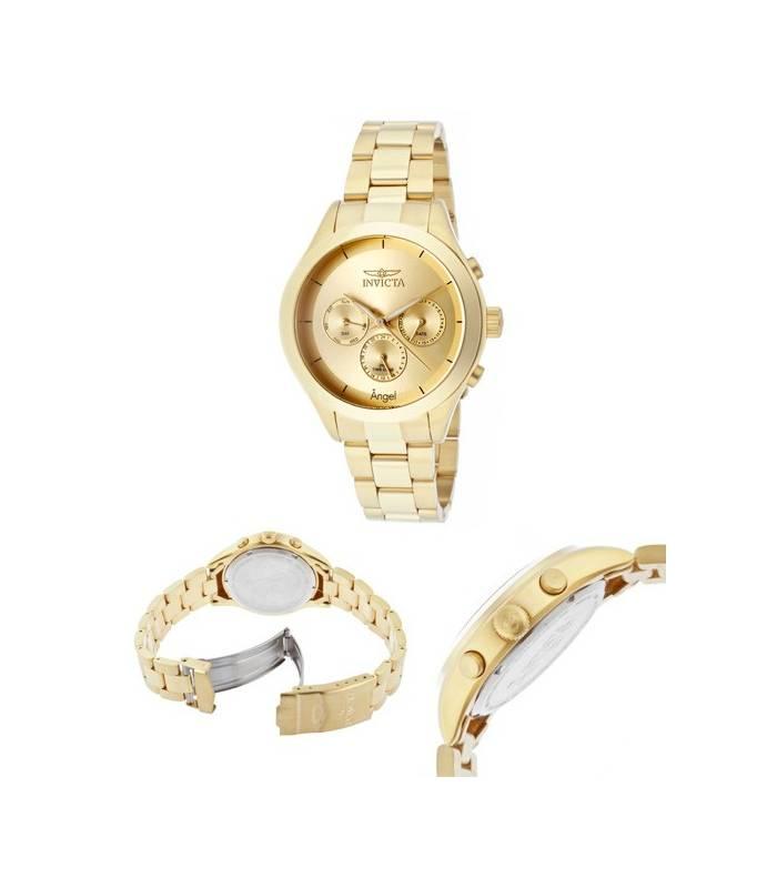 ساعت مچی زنانه اینویکتا 12466 انجل گلد Invicta Women's 12466 Angel Gold
