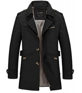 بارانی کتانی آستردار مردانه سوادیکا اسلیم فیت Sawadikaa Men's Cotton Lightweight Jacket