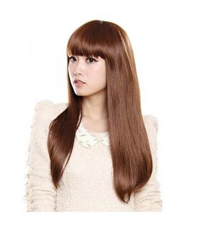 کلاه گیس گو اکشن زنانه مدل بلند و صاف چتری دار Gooaction Woman Long Bang Straight Wig