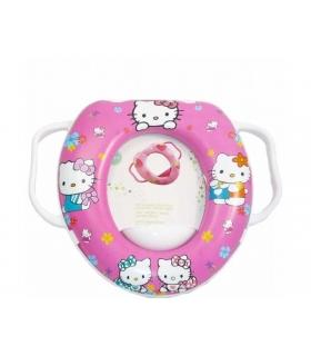 تبدیل توالت فرنگی دیزنی طرح هلو کیتی 921 Disney Hello Kitty Soft Wc Baby Seat